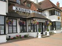 Chef and kitchen opportunity at established busy 3* hotel in Great Yarmouth