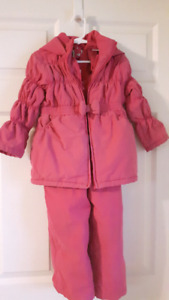 3-4 snow suit