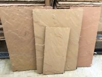 Riven Indian Sand Stone Hand Cut paving paving slabs