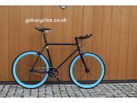 Special Offer GOKU CYCLES Steel Frame Single speed road bike TRACK bike fixed gear BIKE h6f