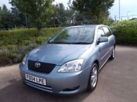 toyota corolla 1.6 automatic 48000 miles only