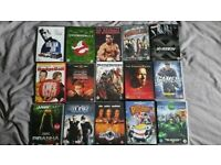 Hundreds of DVDs and some Blu rays for sale