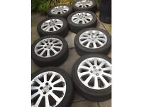 vauxhall astra sxi..4 stud wheels and tyres..corsa sxi 16 inch