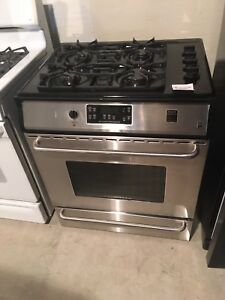 Frigidaire gas stove slide in