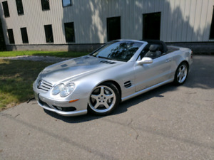 2003 Mercedes Benz SL 55 AMG mint with low kilometers