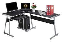 Dripex Wood L-shape Desk