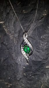 Emerald and Diamond Necklaces