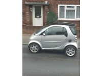 Smart car 600cc very good first car cheap insurance and road tax leather heated seats glass roof