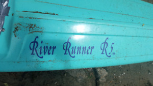 Used River Runner R5 kayak