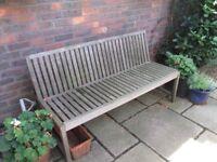 Habitat garden bench