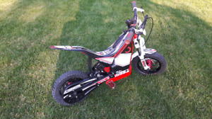 "Oset 12.5"" trials bike"