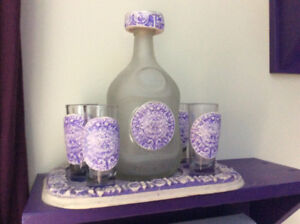 Carafe pour tequila mexicaine