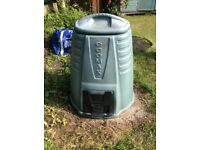 Compost bins for sale @ £10 each. Help the environment and keep your garden tidy!