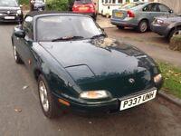 Classic Car Mazda MX5 1.8L 1997, Summer of Fun and Restoration Project