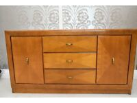 Beautiful solid wood table and sideboard