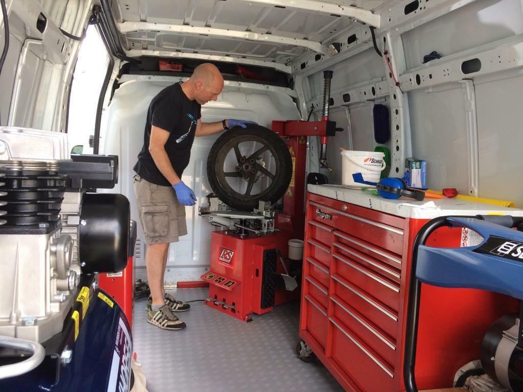 Mark One Motorcycles Mobile Tyre Fitting Service