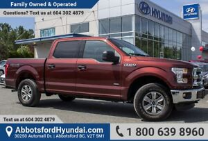 2016 Ford F-150 XLT ONE OWNER, LOW KILOMETRES & ACCIDENT FREE