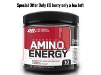 Optimum Nutrition Amino Energy 90g Fruit Fusion Pre-workout