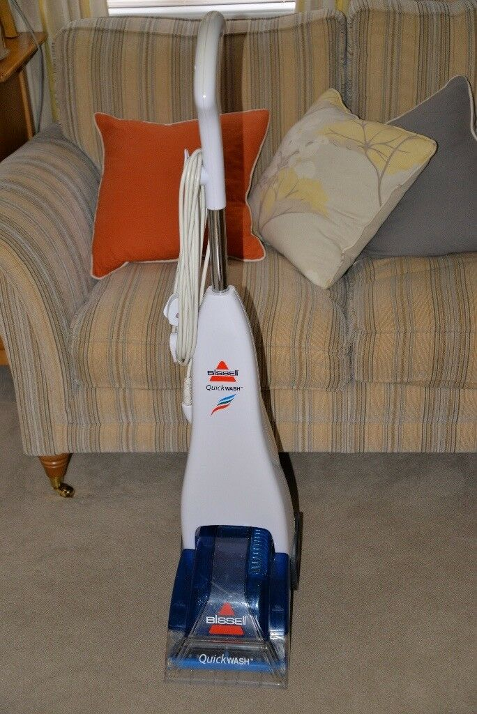fb569069530 bissell quickwash carpet cleaner in good working order