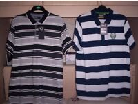 6 New Mens Polo / Rugby Shirts , 1 Mans Jacket