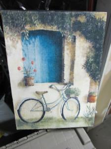 Cadre vélo Fabrice de Villeneuve