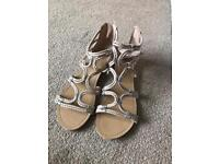 Size 7 wide fit New look sandals