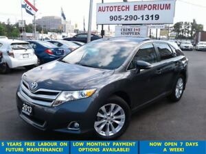 2013 Toyota Venza AWD Leather/Camera/Panoroof &GPS*