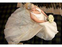 Beautiful Designer San Patrick Wedding Dress (and bridesmaid dresses)