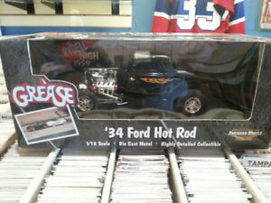ERTL 1:18 Scale 34 Ford Hot Rod From The Movie Grease