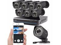 CCTV Zmodo Full HD 8ch Set Brand New