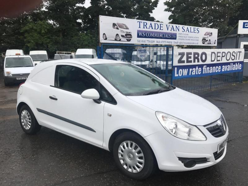 523a641fbe Vauxhall Corsavan 1.3CDTi 16v white manual low mileage
