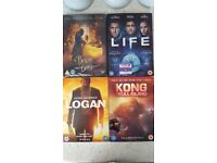 Logan, Kong Skull Island, Life, Beauty and the Beast New Dvd