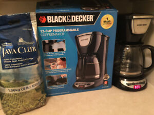 BLACK+DECKER Coffee maker, Black