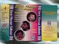 HANS RAJ HANS & DEEDAAR SINGH PARDESI CASSETTES - Indian Bhangra Punjabi Folk