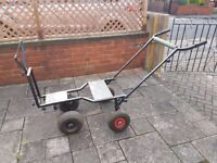 fishing barrow 4 wheel