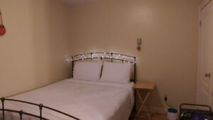 One bedroom, in a two bedroom apartment, for Sept. 1st