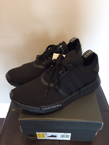 DS Brand New Adidas NMD Triple Black Japan sz 10.5