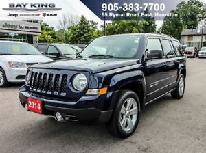 2014 Jeep Patriot LIMITED 4X4, BLUETOOTH, REM START, HTD FRONT S