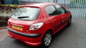 Peugeot 206 1.1 (2004) **Full Year MOT** 5 doors** Fitted with New Clutch