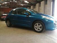 207 SPORT STUNNING CAR LOW MILEAGE WITH FULL SERVICE HISTORY!