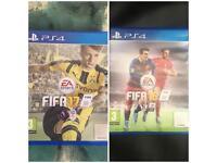 Fifa 16 & 17 PS4