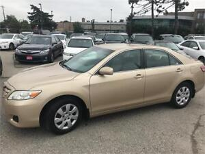 2011 Toyota Camry LE,LOW KMS,NO ACCIDENTS