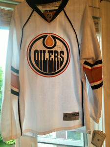 Official Licensed Signed Edmonton Oilers Jersey