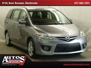 2010 Mazda MAZDA5 GT,  6 PLACES + TOIT + A/C + BLUETOOTH