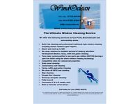 The ultimate window cleaning service