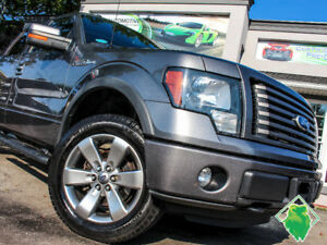 '11 Ford F-150 FX4+V8+4X4+Leather+SuperCrew+MINT! Only$195/Pmts!