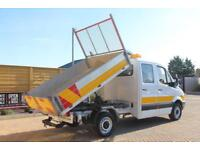 2012 MERCEDES SPRINTER 313 CDI DOUBLE CAB ALLOY TIPPER TIPPER DIESEL