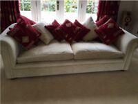 Large 3 seat comfy sofa