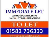 2 bed semi detached house to rent in luton , saints area £995 pm