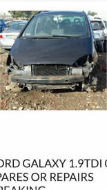 Ford Galaxy 1.9 Tdi 2003 Black spares breaking
